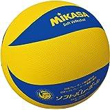 ミカサソフトバレーボールイエローブルー 小学校ソフトバレーボール試合球 5~6年生用 MS-M64H