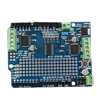 Motor azul durable/paso a paso/Servo/Robot Shield para Arduino v2 ...