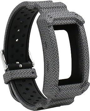 Elespoto para Samsung Gear FIT2 Pro Correa de Silicona Reloj ...