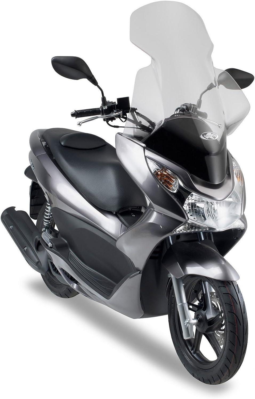 Pare-Brise sp/écifique Transparent attaques exclus Kappa 323DT Honda PCX 125/ /150/ H x l 10/ 13 82/x 58/cm