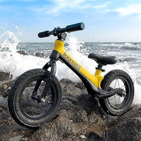 Xiao Tian Niños Niños Bicicleta de Equilibrio, Metal Niños Chicas Correr Caminar Entrenamiento Bicicleta: Amazon.es: Deportes y aire libre