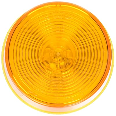 """Grote 45813-5 Yellow 2 1/2"""" Round Clearance Marker Light (Optic Lens): Automotive"""
