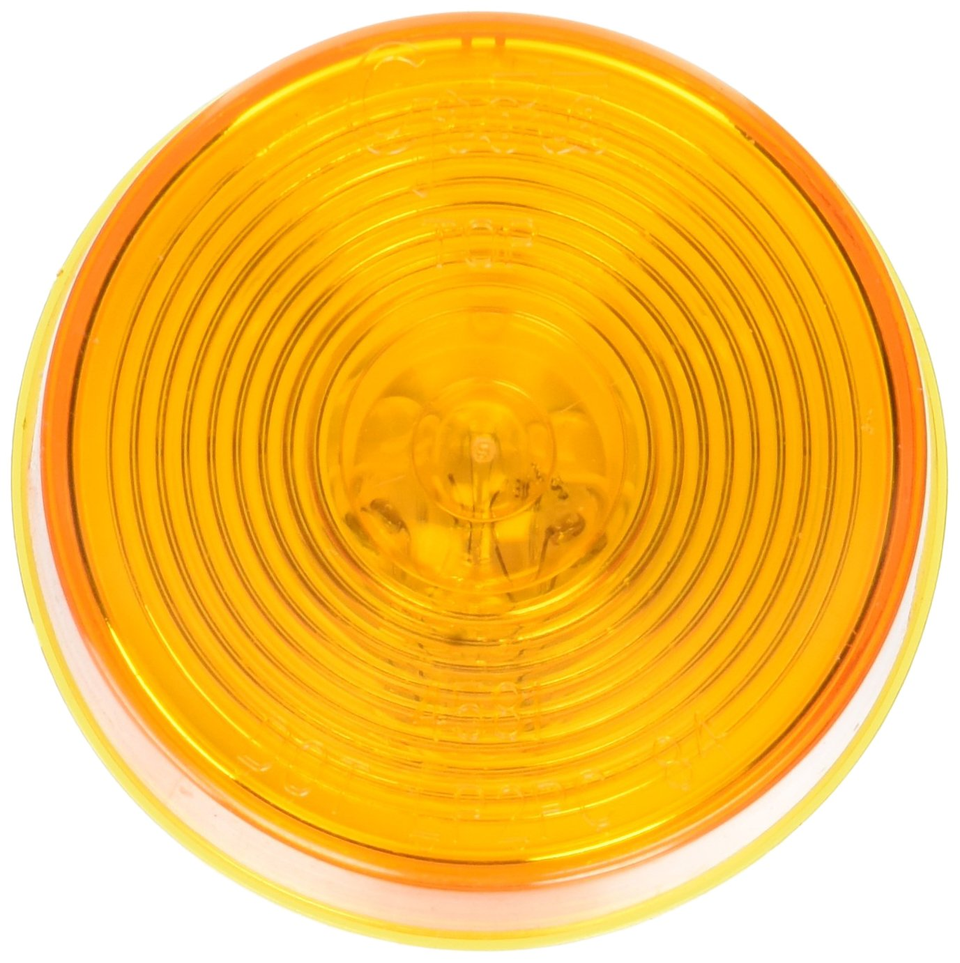 Grote 45813-5 Yellow 2 1//2 Round Clearance Marker Light Optic Lens