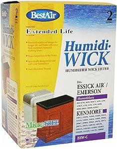 Humidiwick Humidifier Wick Filters 6-1/2