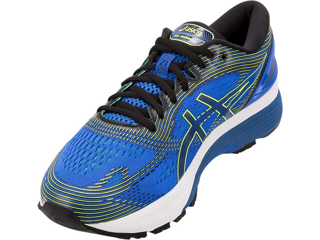 ASICS Men's Gel-Nimbus 21 Running Shoes, 7M, Illusion Blue/Black by ASICS (Image #2)