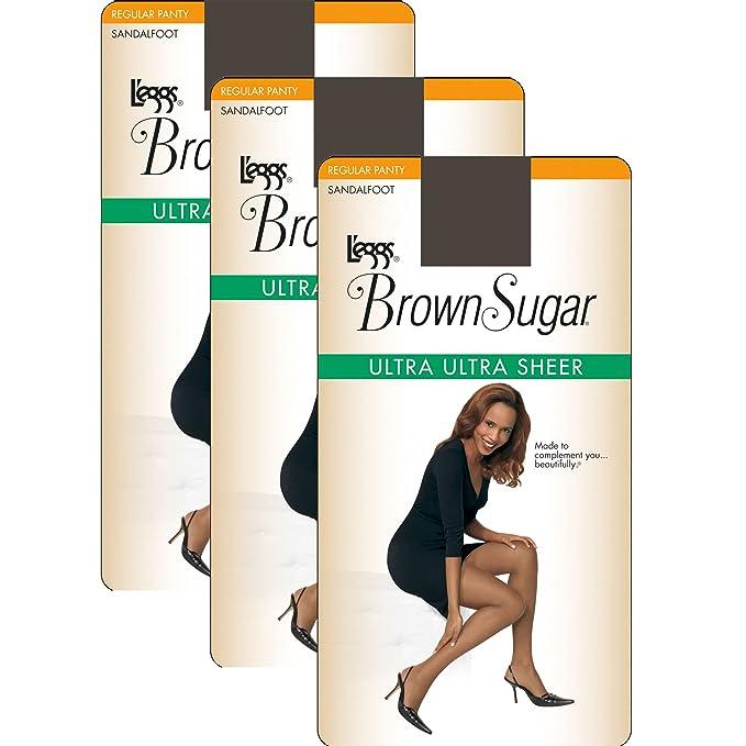 5ed478ff7ec L eggs Women`s Set of 3 L`eggs Brown Sugar Ultra Ultra Sheer ...