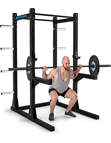Capital Sports Bestride • Jaula de Fuerza • Multifunción • Power Rack • 2 Soportes de