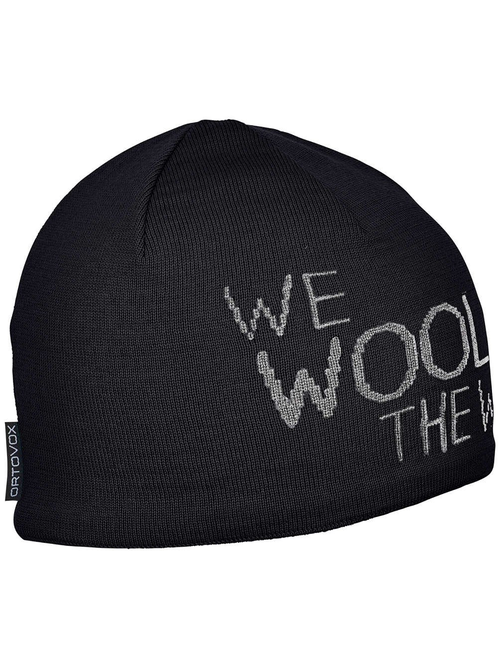 Ortovox We Wool The World Beanie, Black Raven, 50 – 56 cm 50 - 56 cm 6800100001