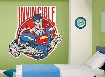 Superman Invincible Wall Decal