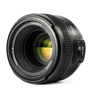 Resultado de imagen para Lente YN50mm f1.8 Nikon Autofoco