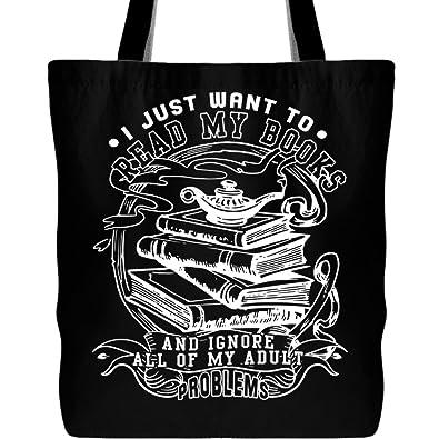 Amazon.com: I Want a leer mis libros bolsas, leer mis libros ...