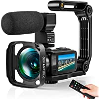 Video Camera Ultra 2.7K Camcorder HD 36MP Digital Vlogging Recorder with IR Night Vision and 16X Digital Zoom Equipped…
