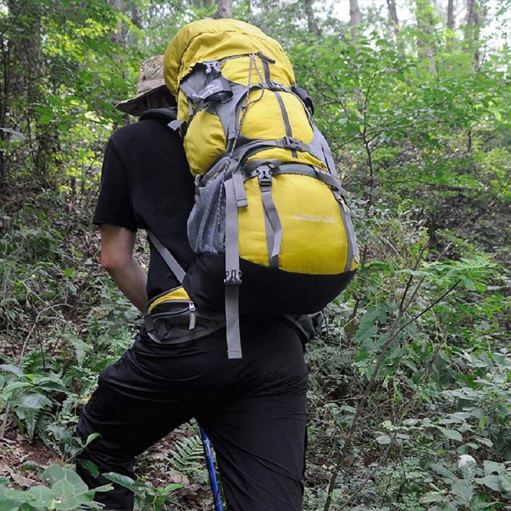 WXW Outdoor-Rucksack 50L große Kapazität, Kapazität, Kapazität, Outdoor-Wandern, Bergsteigen, Reiten Rucksack, mit Regenschutz, Solide und Langlebig, männlich und Weiblich General Rucksack B07GJ566VF Wanderruckscke Ausgezeichneter Wert 370ca3
