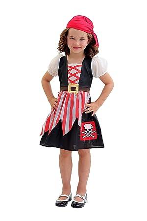 Cesar F670 Disfraz Pirata NIÑA, 8/10 años: Amazon.es ...