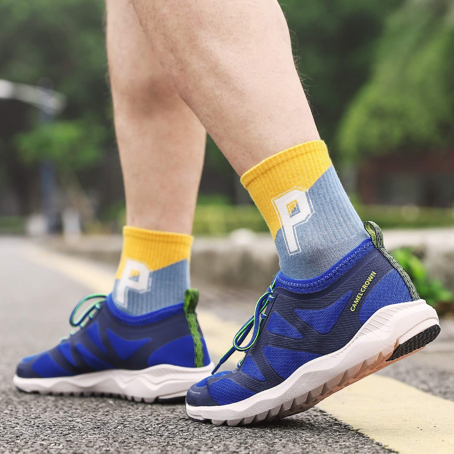 CAMEL CROWN Running Shoes for Men Athletic Walking Tennis Shoes Casual Fashion Sneakers Sport Gym Walking Workout Shoes