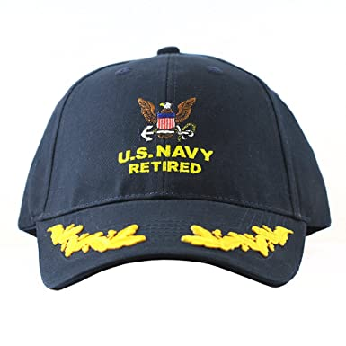 Image Unavailable. Image not available for. Color  US Navy Retired Cap ... a6ad780b419b