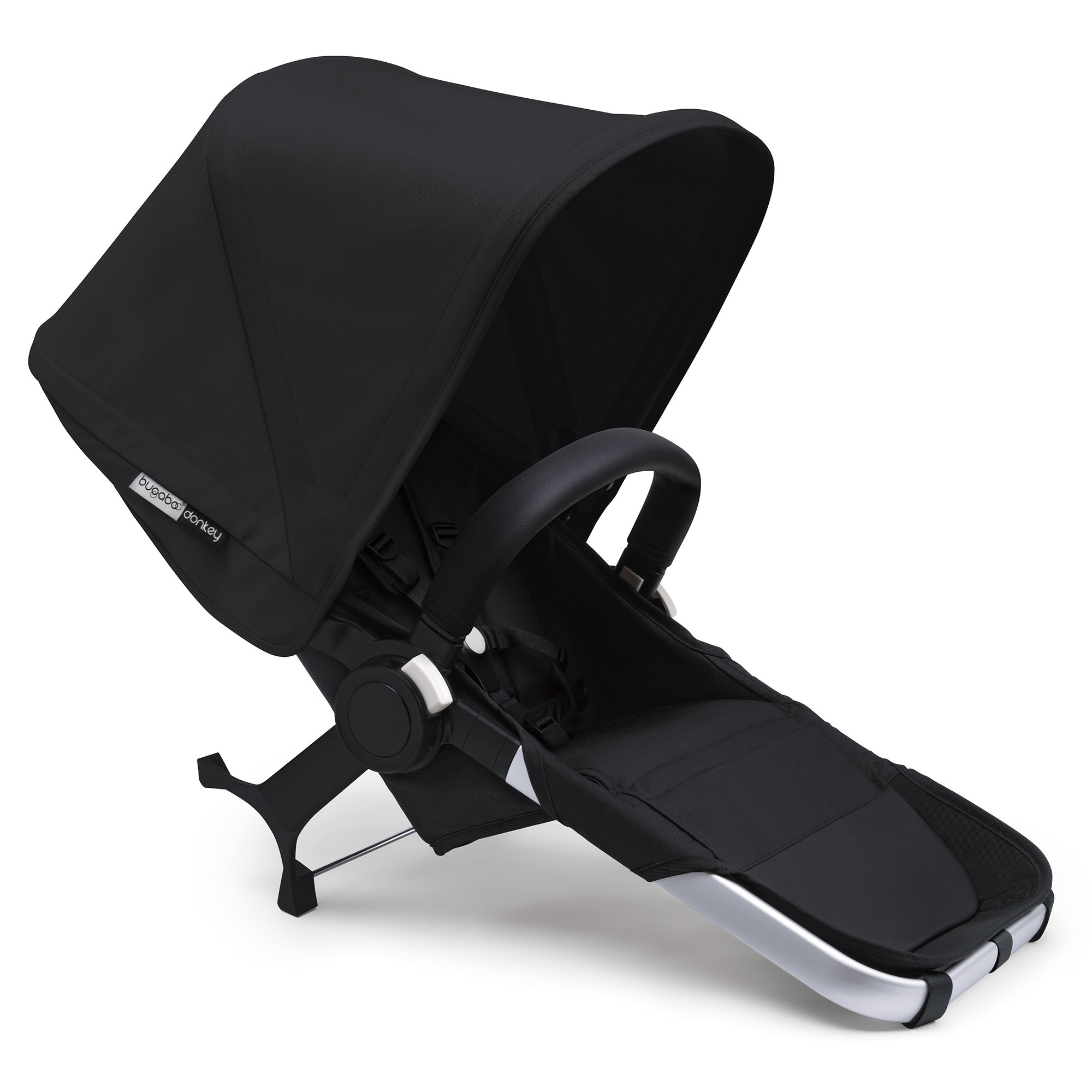 Bugaboo Donkey2 Complete Duo Extension Set, Black
