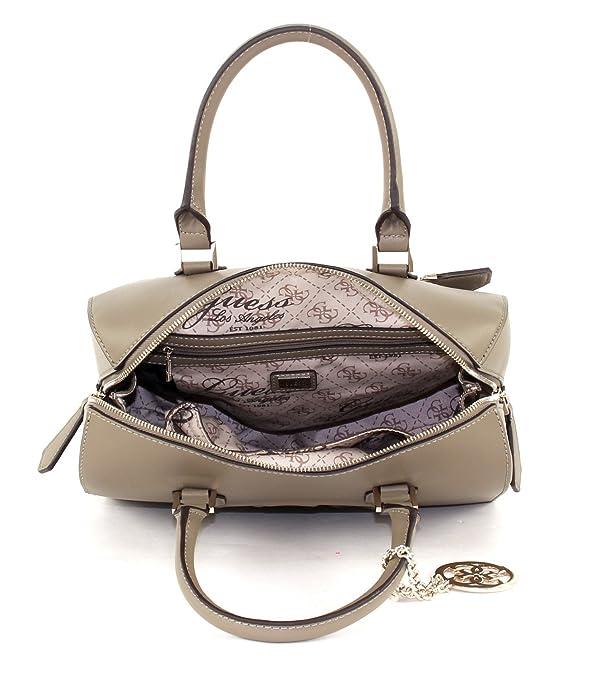 18ff48427d GUESS Korry Box Satchel Olive: Amazon.fr: Chaussures et Sacs