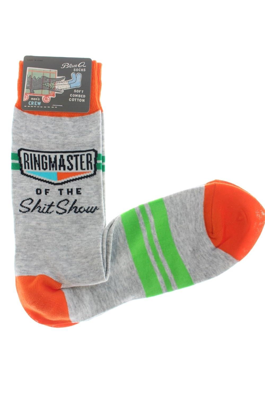 Blue Q Men's Novelty Crew Socks