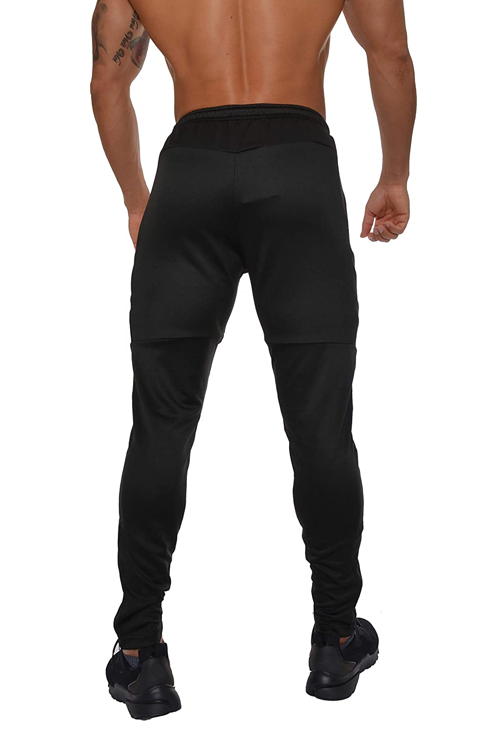 bce5910f67d9e YoungLA Track Pants for Men Workout Athletic Gym Joggers Lightweight  Training Sweatpants Tapered Fit 205 at Amazon Men's Clothing store: