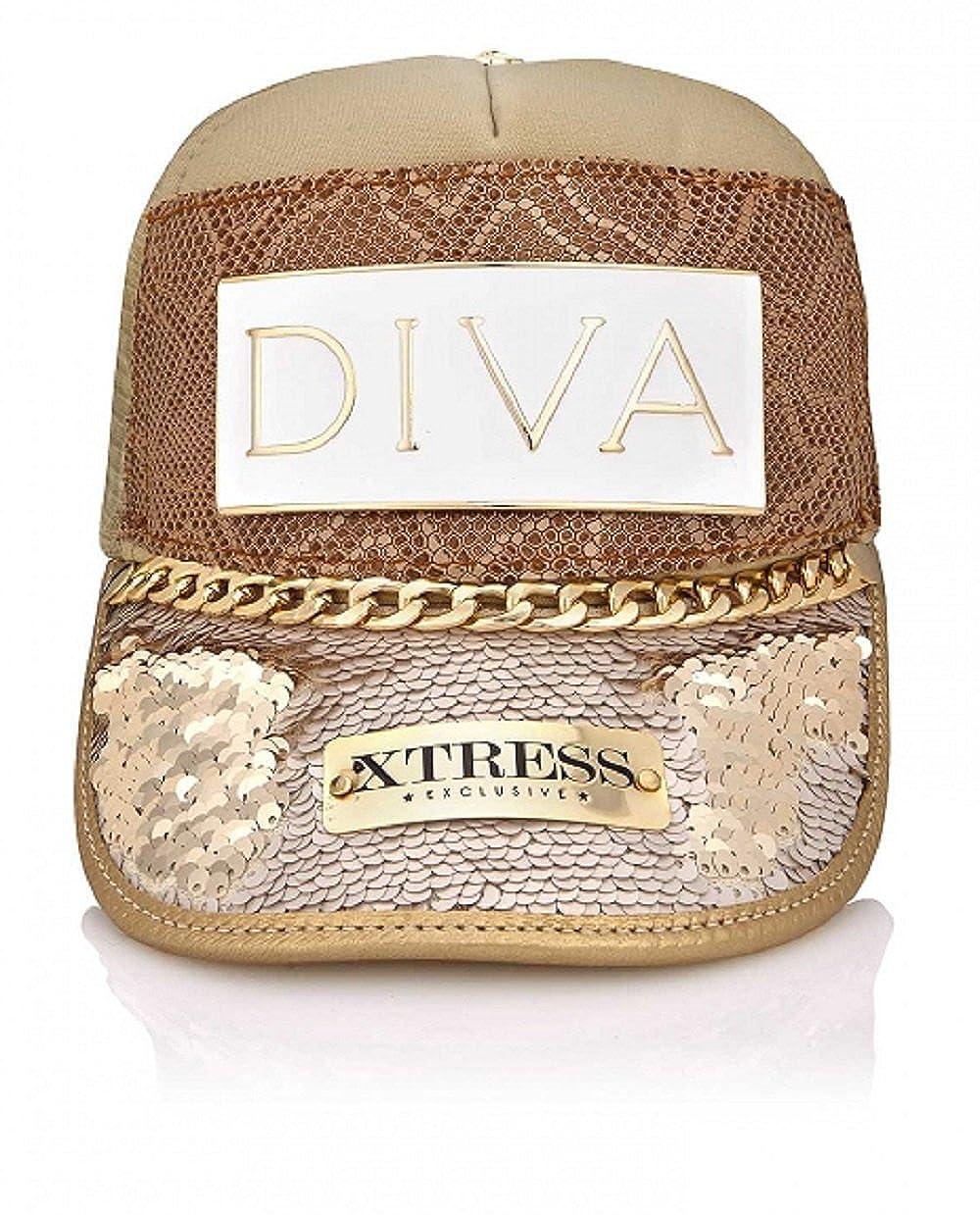 Xtress Exclusive Gorra fashion de diseño hecha a mano.: Amazon.es: Ropa y accesorios