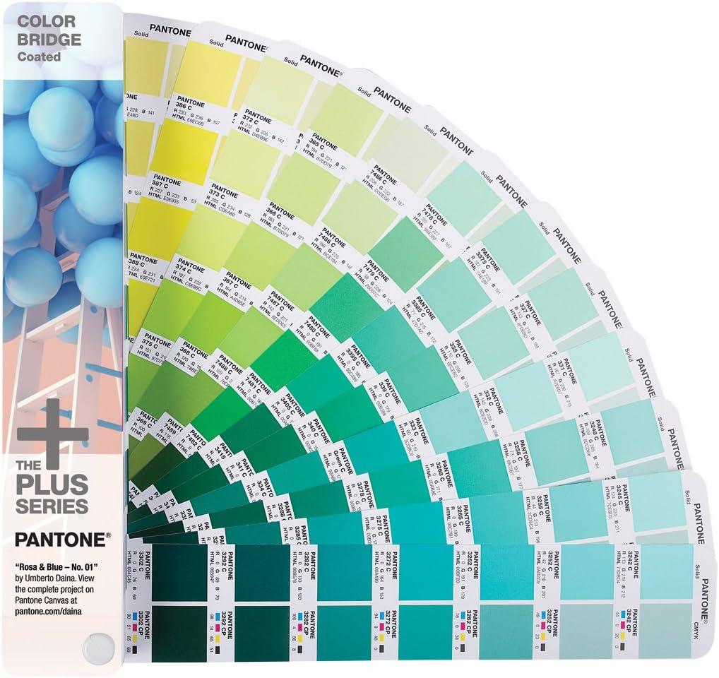 Pantone Color Bridge 1845Colores Carta de Colores y Muestra – Carta de Colores y Muestra de Colores