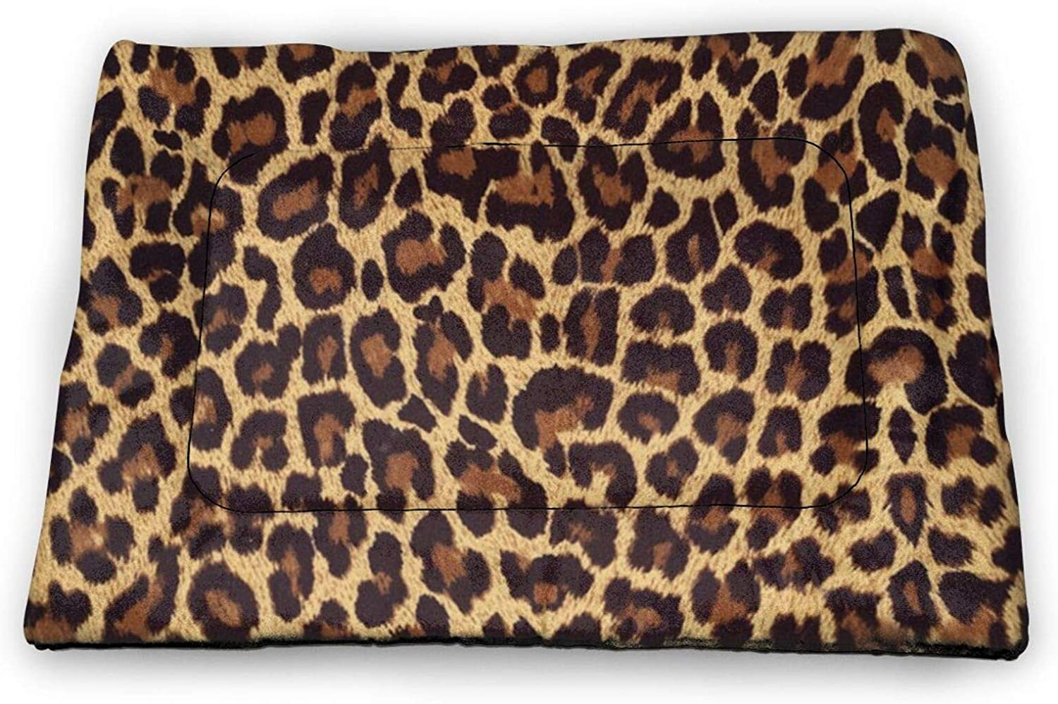 Neddelo Cool Cheetah Leopard Pet Mat£¬Washable Pads for Dogs,Reusable Puppy Training Pads