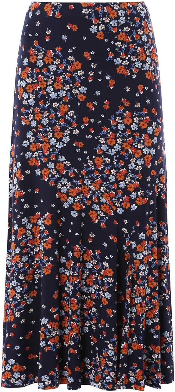 Roman Originals Women Panel Ditsy Floral Skirt