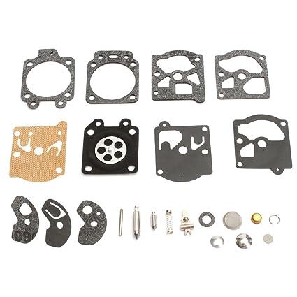 tucparts Kit de carburador membrana Seal Kit de reparación ...