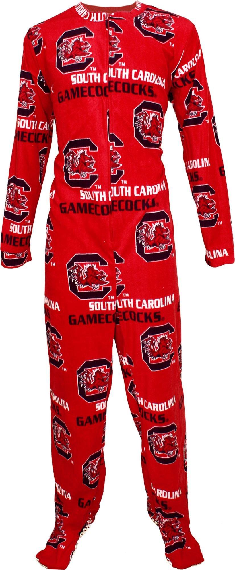 Concepts Sport Men's South Carolina Gamecocks Garnet Union Suit (S)
