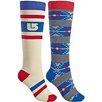 Burton Weekend 2Pack Socks–Calcetines para Mujer