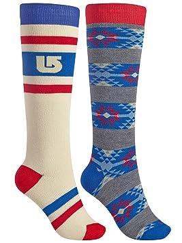 Burton Weekend 2 Pack Socks - Calcetines para Mujer: Amazon.es: Deportes y aire libre
