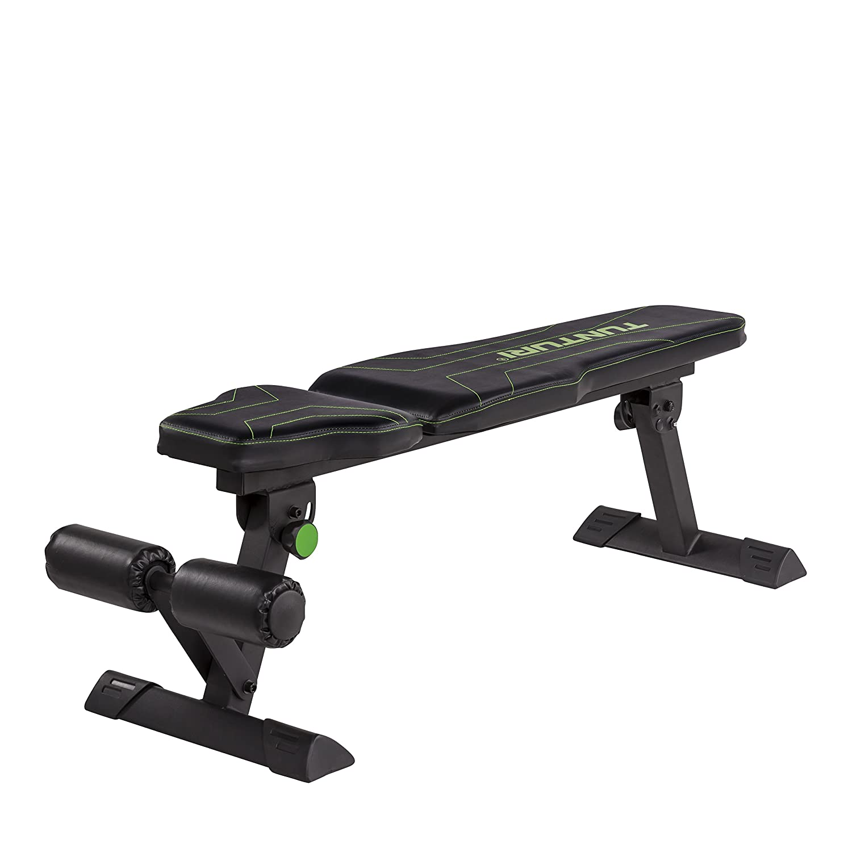 Tunturi FB80 Flat Bench Flachbank, schwarz, 1