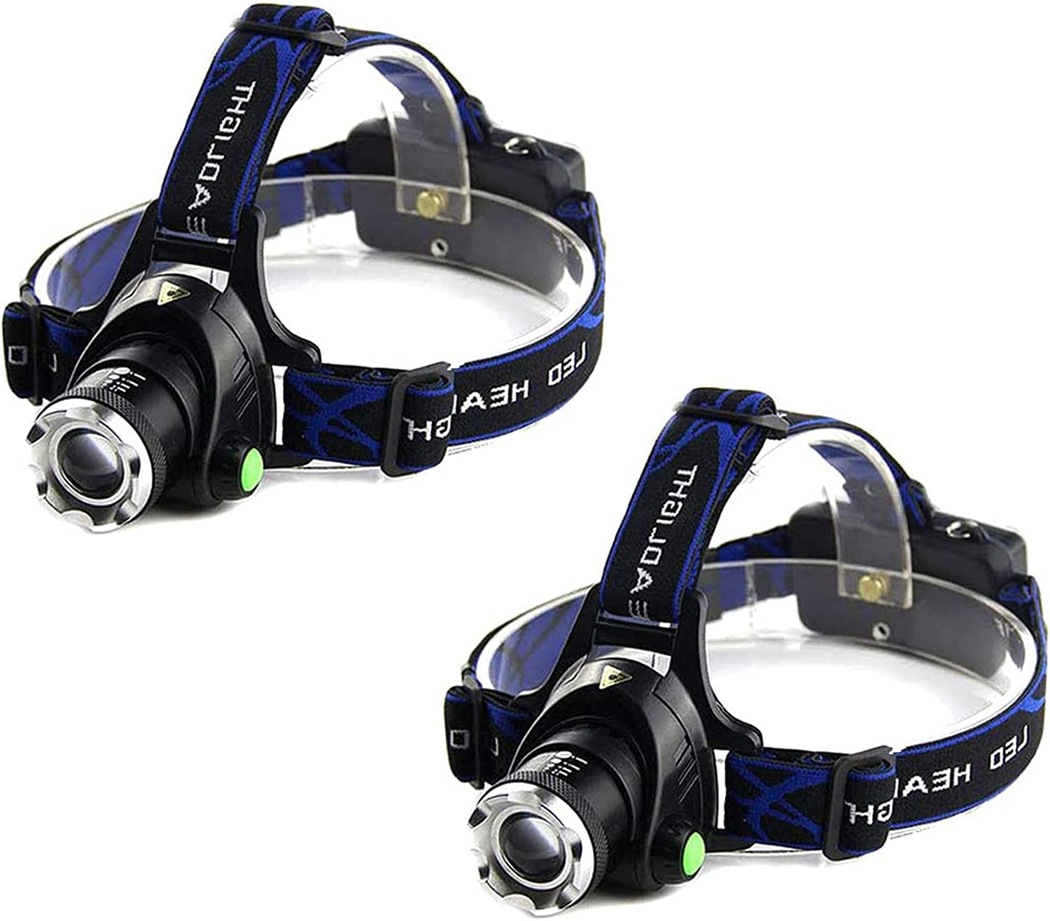 COB LED Headlamp 4 Modes Waterproof Headlight Head Flashlight Torch Lante xhL/_TI