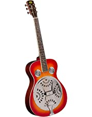 Regal RD-40CH Studio Series Roundneck Resophonic Guitar - Cherry Sunburst