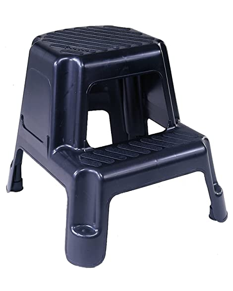 Cosco 11-911BLK Two-Step Molded Step Stool Black  sc 1 st  Amazon.com & Amazon.com: Cosco 11-911BLK Two-Step Molded Step Stool Black ... islam-shia.org