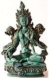 Buda Figuras/Billy Held Verdes Figura de Tara Estatua De Buda, Resin, Turquesa, 20cm