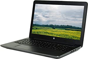 """HP Mobile Worstation ZBook 15 G3 15.6"""" FHD Laptop, Core i7-6700HQ 2.6GHz, 16GB RAM, 480GB Solid State Drive, Windows 10 Pro 64bit, CAM, NVIDIA Quadro M1000M (Certified Refurished)"""