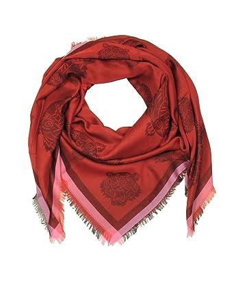 4c02f3bd1344 Kenzo - Ensemble bonnet, écharpe et gants - Homme - Rouge - Taille unique