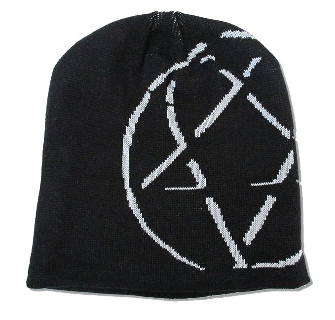 0f811b025fe Amazon.com  H.I.M. Shadow Heartagram Logo Black Ski Beanie Hat  Clothing