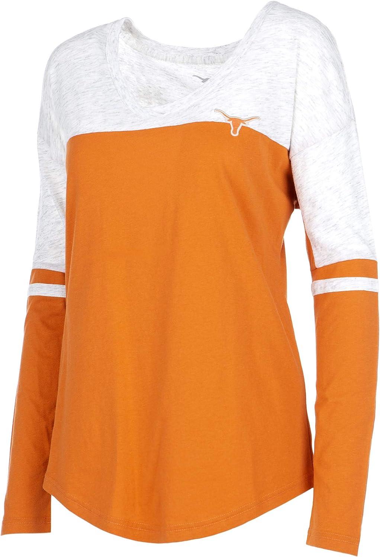 University of Texas Authentic Apparel NCAA Womens Womens Tri-Blend Short Sleeve Tee