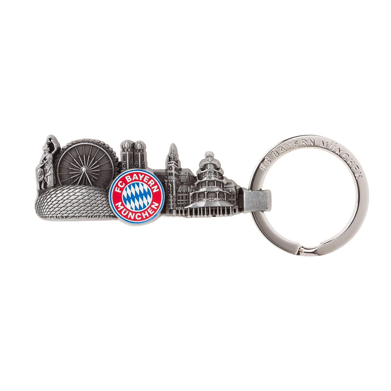 FC Bayern M/ünchen Schl/üsselanh/änger Skyline
