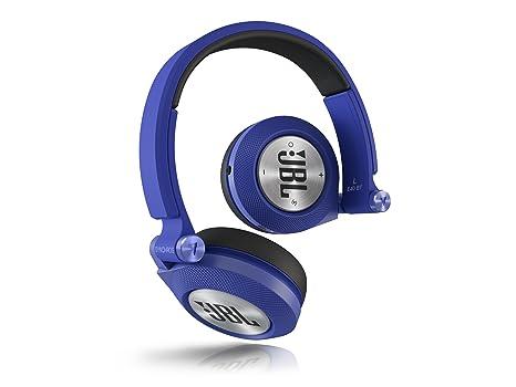 JBL E40 BT Auriculares supraaurales estéreo almohadillados recargables inalámbricos, compatible con dispositivos iOS de Apple
