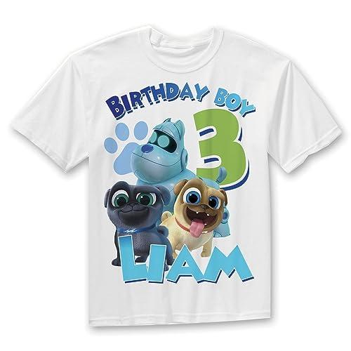 Amazon Com Puppy Dog Pals Birthday Shirt Boys Puppy Dog Pals