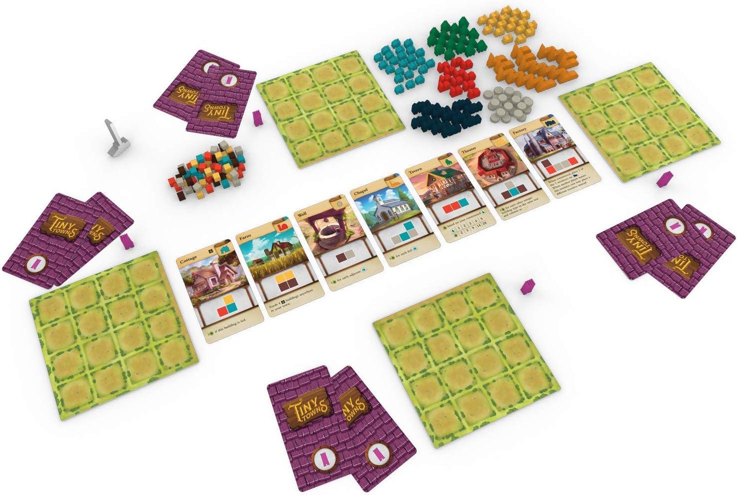 Alderac Entertainment 7053 Tiny Towns - Juego de Mesa: Amazon.es: Juguetes y juegos