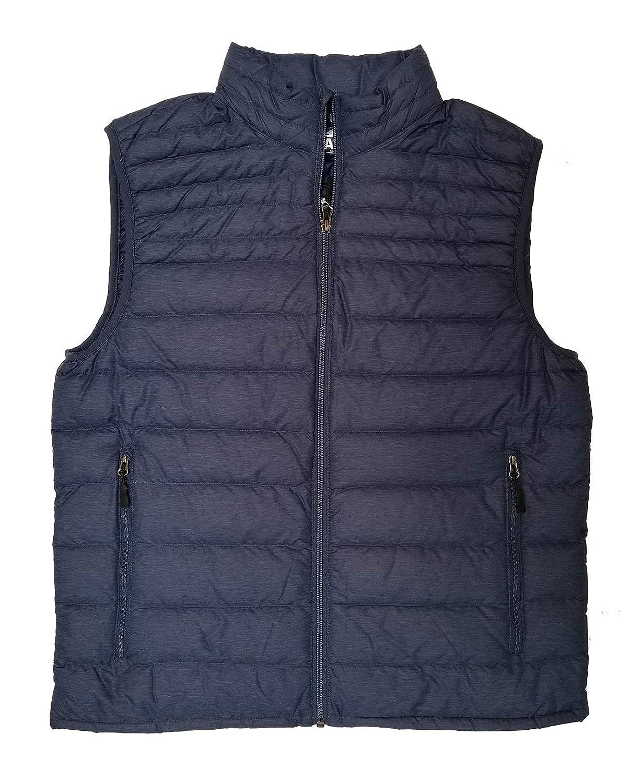 32 Degrees Heat - Men's Ultralight Packable Down Vest with Stuff Bag