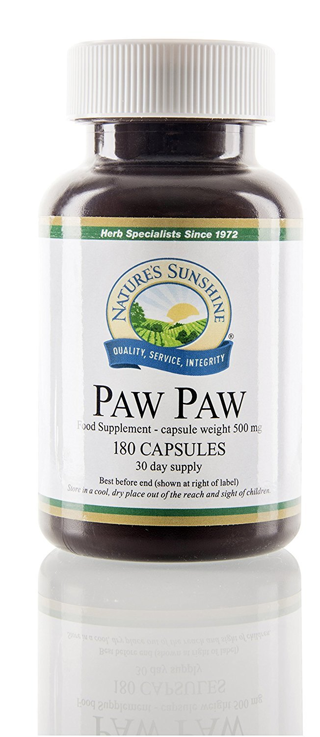 Nature's Sunshine Paw Paw Cell-Reg 180 caps Each (Pack of 2)