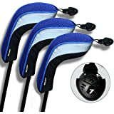 Amazon.com : Andux 4pcs/Pack Long Neck Golf Hybrid Club Head ...