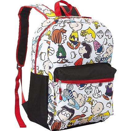181e75f439 Amazon.com  Peanuts Snoopy Snoopy Backpack (White)  Computers ...