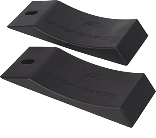 Vapor Fitness 3.5 Wide Deadlift Wedge 2 Pack This Deadlift Jack Alternative is The Best Tool for Loading and Offloading Weights from The Barbell